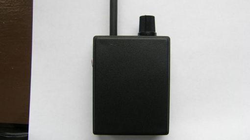 Ток потребления приемника - 25 мА Индикатор разряженной батареи...