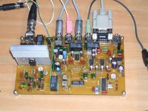 Простой одноплатный SDR трансивер.