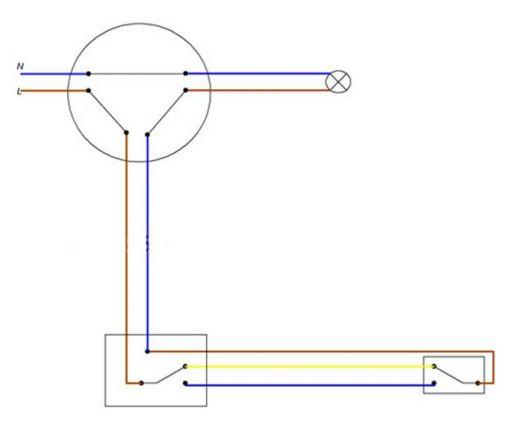 Как расключить переключатели, схема расключения.