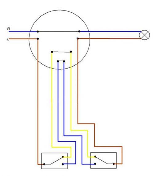 Схема Емкость импульсы схема тройных проходных выключателей схема АльпИнжиниринг Промышленный альпинизм.